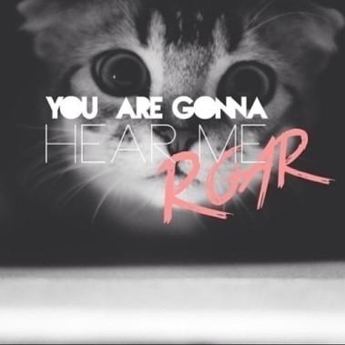 kitty gonna roar